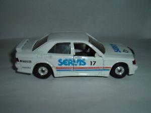 【送料無料】模型車 モデルカー スポーツカーメルセデスベンツラリービンテージmercedes benz 190e servis rally vintage old see photos