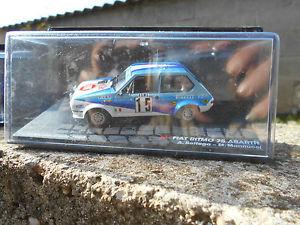 【送料無料】模型車 モデルカー スポーツカーフィアットアバルトラリーモンテカルロベッテガスケールfiat ritmo 75 abarthrally monte carlo 1980abettegammannucci scale 143