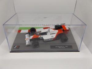 【送料無料】模型車 モデルカー スポーツカーカーコレクションモデルマクラーレンアイルトンセナ143 f1 car collection model mclaren mp 44 1988 ayrton senna