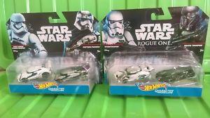 【送料無料】模型車 モデルカー スポーツカースターウォーズホットホイールズキャプテンstar wars hot wheels captain phasma fostormtrooper death trooper amp; stormtrooper