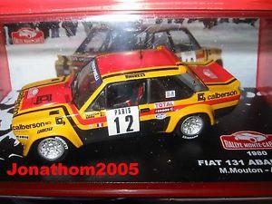 【送料無料】模型車 モデルカー スポーツカーフィアットアバルトカルロfiat 131 abarth 12 mounted carlo 1980 m sheep a arrii to the 143
