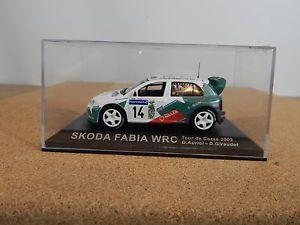 【送料無料】模型車 モデルカー スポーツカーネットワークシュコダファビアツールドコルスixoaltaya skoda fabia wrc tour de corse 2003 daurioldgiraudet 143