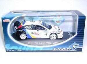 【送料無料】模型車 モデルカー スポーツカーフォードフォーカスラリードフランスford focus wrc 4 castrol rally de france 2003