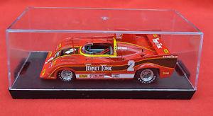 【送料無料】模型車 モデルカー スポーツカーアルファロメオキロモンツァヴィットリオブランビラbrumm r282 143 alfa romeo 33sc12 500km monza 1977 1st vittorio brambilla