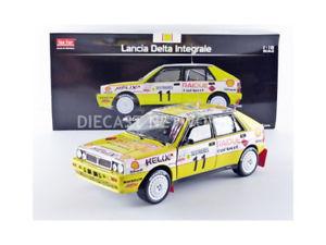 【送料無料】模型車 モデルカー スポーツカーサンスターランチアデルタラリーモンテカルロsunstar 118 lancia delta hf integrale rallye montecarlo 1989 3129
