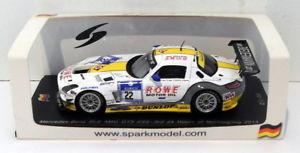 【送料無料】模型車 モデルカー スポーツカースパークスケールシングルメルセデスグアテマラ#ニュルブルクリンクspark 143 scalesg079 sls mercedes amg gt3 22 24 hrs of nurburgring 2013