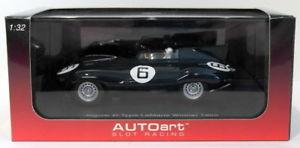 【送料無料】模型車 モデルカー スポーツカースケールスロットカージャガータイプルマングリーンautoart 132 scale slot car 13582 jaguar dtype le mans winner 1955 green