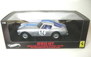 【送料無料】模型車 モデルカー スポーツカーフェラーリコルトルマンferrari berlinetta passo corto swb 14 24h lemans 1961