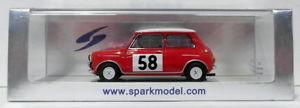 【送料無料】模型車 モデルカー スポーツカースパークモデルスケールモーリスミニクーパー#モンテカルロspark models 143 scale resin s1189 morris mini cooper 58 monte carlo 1963