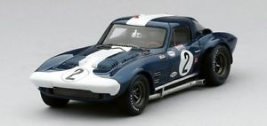 【送料無料】模型車 モデルカー スポーツカーシボレーコルベットグランスポーツクーペ##セブリングスケールchevrolet corvette grand sport coupe039; 2 sebring 1964 true scale 143 tsm144320
