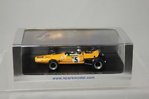 【送料無料】模型車 モデルカー スポーツカースパークマクラーレンベルギーマクラーレンspark 143 mclaren m7a 5 winner belgium gp 1968 bmclaren
