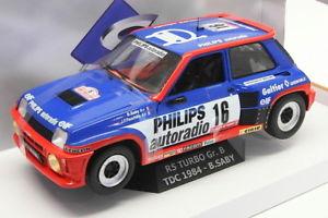 【送料無料】模型車 モデルカー スポーツカースケールモデルカールノーターボサビーsolido 118 scale model car s1801301 renault rs turbo grb tdc 1984 bsaby