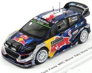 Ford Fiesta RS WRC  Rallye Monte Carlo 2016  Bryan Bouffier  1:43 Spark 4970 NEU