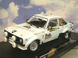 【送料無料】模型車 モデルカー スポーツカーサンスターフォードエスコート#スウェーデンラリーソルベルグsunstar 118 ford escort rs1800 141 1st historic rally sweden solberg 2013 4494