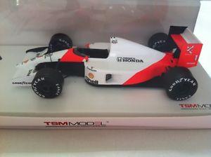 【送料無料】模型車 モデルカー スポーツカーマクラーレン#セナモナコスケールmclaren mp46 1991 1 senna winner monaco gp true scale tsm134324 sealed
