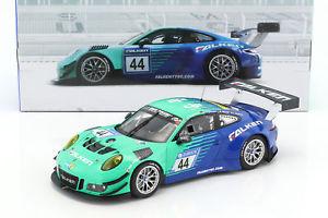 【送料無料】模型車 モデルカー スポーツカーポルシェグアテマラ#ファルケンモータースポーツporsche 911 991 gt3 r 44 falken motorsports 24 h nrnburgring 2017 118