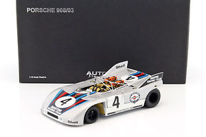 【送料無料】模型車 モデルカー スポーツカーポルシェマルティニレーシングporsche 90803 martini racing nrnburgring 1971 118 autoart