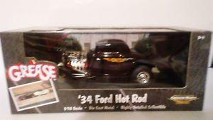 【送料無料】模型車 モデルカー スポーツカーブラック#;フォードホットロッドグリースライデルハイスケールアメリカ
