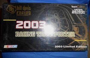 【送料無料】模型車 モデルカー スポーツカーチームシリーズビルデイビスダイカスト#ケニーウォレス2003 team caliber owners series bill davis diecast 23 kenny wallace 600 made