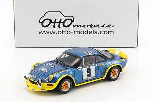 【送料無料】模型車 モデルカー スポーツカーアルパインターボ#ラリーalpine a110 turbo 9 winner rallye cvennes 1972 therier, callewaert 118 ottomo
