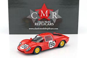 【送料無料】模型車 モデルカー スポーツカーフェラーリディノ#タルガフローリオferrari dino 206 s196 2nd targa florio 1966 guichet, baghetti 118 cmr