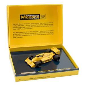 【送料無料】模型車 モデルカー スポーツカーセナロータスモナコsadhna senna lotus 99t monaco 1987 143