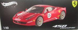 【送料無料】模型車 モデルカー スポーツカーフェラーリイタリアferrari 458 italia challenge 5