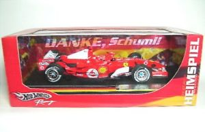 【送料無料】模型車 モデルカー スポーツカーフェラーリミハエルシューマッハferrari 248 f1 5 michael schumacherdanke schumi