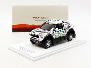 【送料無料】模型車 モデルカー スポーツカーミニチュアミニレーシングダカールtruescale miniatures 143 mini all4 racing dakar 2016 tsm430237