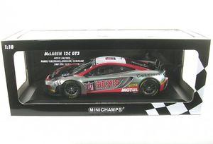 【送料無料】模型車 モデルカー スポーツカーマクラーレングアテマラレーシングスパパニスmclaren 12c gt3 hexis racing 107 24 h spa 2013 panis cazenave debard