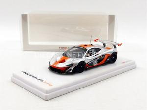 【送料無料】模型車 モデルカー スポーツカーミニチュアマクラーレンtruescale miniatures 143 mclaren p1 gtr 2015 tsm430124
