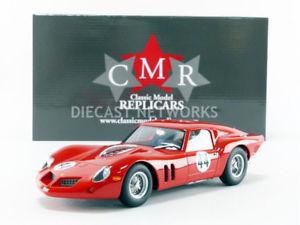 【送料無料】模型車 モデルカー スポーツカーフェラーリキロスパcmr 118 ferrari 250 gt drogo 500 km spa 1963 cmr096
