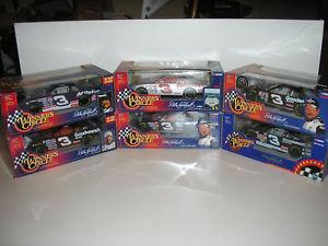 【送料無料】模型車 モデルカー スポーツカーロットwinners circle earnhardt 19972001 lot of 6 124