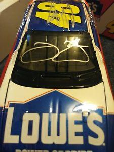【送料無料】模型車 モデルカー スポーツカープライドジミージョンソンパワーデュアルジミーチャド2002 jimmie johnson power of pride  dual signed  jimmie and chad knaus