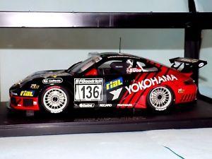 【送料無料】模型車 モデルカー スポーツカーポルシェグアテマラ#porsche 911 996 2005 gt3 rsr 136 yokohama autoart 80571 118