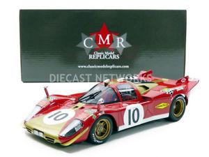 【送料無料】模型車 モデルカー スポーツカーフェラーリルマンcmr 118 ferrari 512 s 24h du mans 1970 cmr067