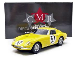 【送料無料】模型車 モデルカー スポーツカーフェラーリルマンcmr 118 ferrari 275 gtb le mans 1966 cmr038