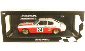 【送料無料】模型車 モデルカー スポーツカーフォードカプリクラスキャラヨッヘンford capri rs 2600 24 class winner 9 h kyalami 1971 jochen dimensions