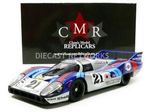【送料無料】模型車 モデルカー スポーツカーポルシェロングテールマルティニルマンcmr 118 porsche 917 long tail martini le mans 1971 cmr046