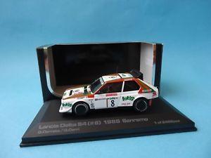 【送料無料】模型車 モデルカー スポーツカーランチアデルタサンレモラリーlancia delta s4 8 totipdario cerrato 2 san remo rally 1986 143 hpi 968