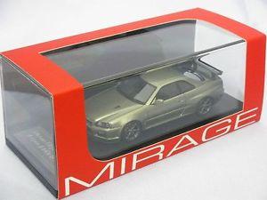 【送料無料】模型車 モデルカー スポーツカースカイラインミレニアムジェイドミラージュ143 nissan skyline gtr vspec ii nur r34 millennium jade hpimirageig 8367