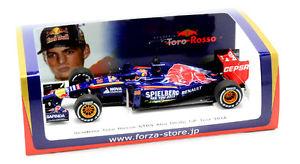 【送料無料】模型車 モデルカー スポーツカートロロッソアブダビテストスパークjpn le, toro rosso str9 max verstappen f1 abu dhabi gp test 2014 spark 143