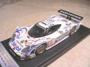 【送料無料】模型車 モデルカー スポーツカーポルシェグアテマラミュラーporsche 911 gt1 warsteiner oschersieben 1998 wollek muller alzen bbr 143 true