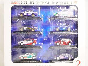 【送料無料】模型車 モデルカー スポーツカーラリーカーコレクションエクストラコリンマクレーメモリアル164 cms rally car collection extra colin mcrae memorial 2 boxset 8pc