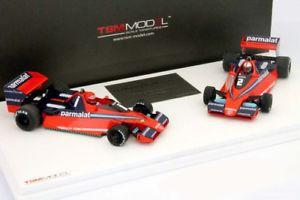【送料無料】模型車 モデルカー スポーツカーラウダワトソンブラバムグランプリイタリアセットフォーミュラlauda, watson brabham bt46 winner set gp italy formula 1 1978 143 truescale