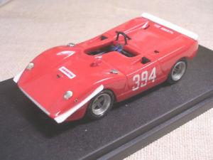 【送料無料】模型車 モデルカー スポーツカーフィアットアバルトスポーツウェッジfiat abarth 2000 sport wedge sarnanosassotetto 1969 lualdi barnini 143 true