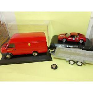 【送料無料】模型車 モデルカー スポーツカートラックフェラーリトレーラーレース