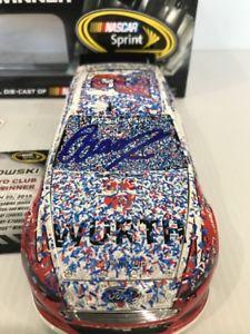【送料無料】模型車 モデルカー スポーツカーブラッドフォンタナカリフォルニアレースサイン2015 brad keselowski wurth fontana california raced win autographed