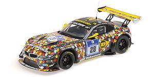 【送料無料】模型車 モデルカー スポーツカーグアテマラ#ニュルブルクリンクスタッコモデルbmw z4 gt3 28 8th 24h nurburgring 2014 stuccosand knightrostek 118 model