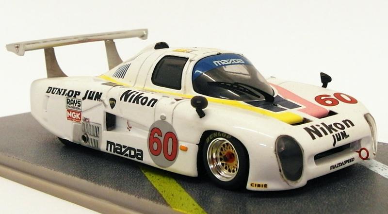 【送料無料】模型車 モデルカー スポーツカースケールモデルカーマツダ#bizarre 143 scale resin model car bz103 mazda 717c 60 12th lm 1983